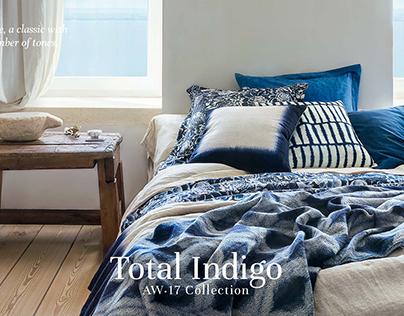 Zara Home // Total Indigo AW17