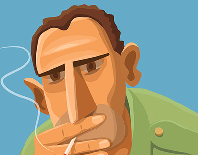 Smokers and other portraits