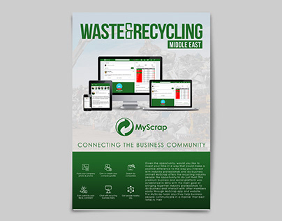 MyScrap Branding Magazine Promotion Ad Design 2018