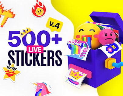 Essential Stickers Library | AE, FCPX and Pr template