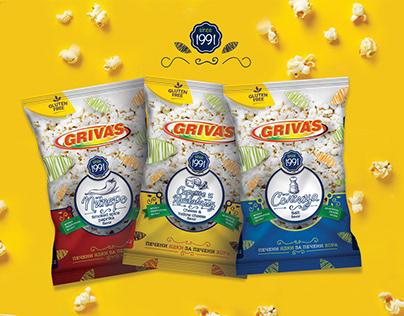 Grivas Popcorn Packaging