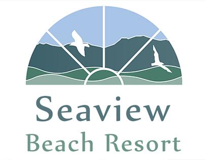 Logo Design for Seaview Beach Resort