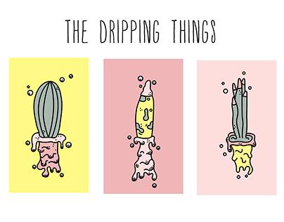 Dripping illustrations