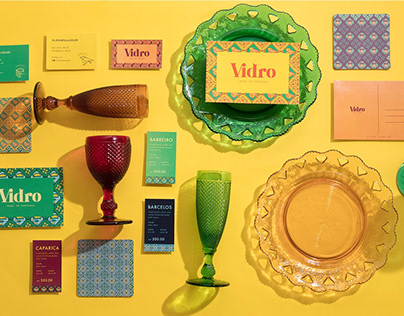 Vidro Glassware: Celebrating Life in Full Color