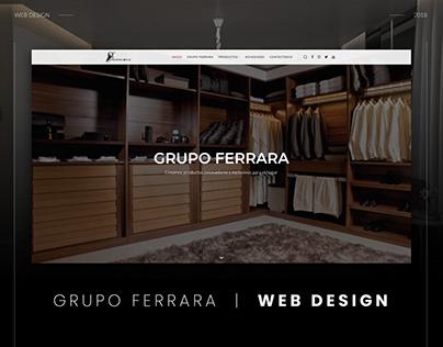 Web Design | Grupo Ferrara