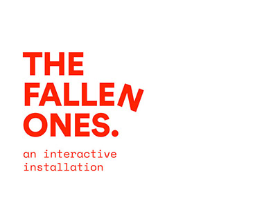 The Fallen Ones - An Interactive Installation
