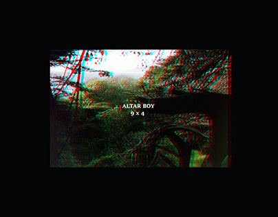 "Altar Boy ""9x4"" EP cover"