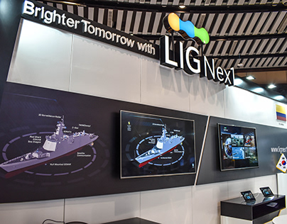 LIG Next1 - Diseño Stand