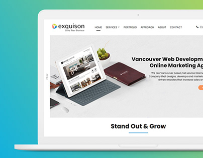 Website Redesign for a Vancouver Marketing Agency