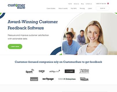 Customer Sure Customer Feedback Software & Survey Tool