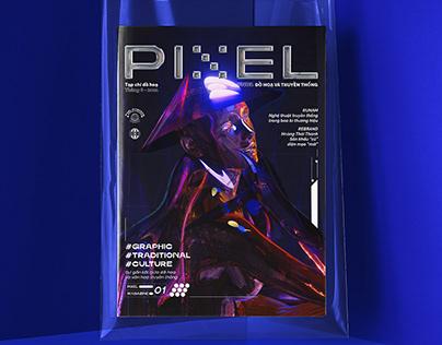 PIXEL MAGAZINE / Graphic Magazine / 072021