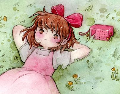 Kiki Watercolor