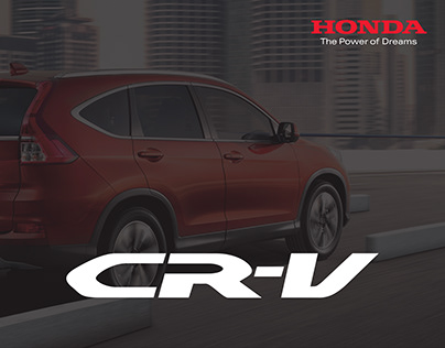Honda CR-V Print Ad