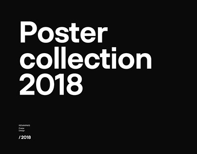 Poster Typography 2018.