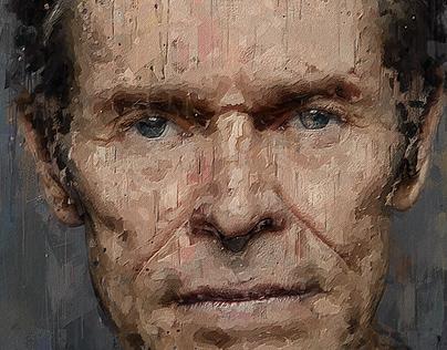 Willem Dafoe Portrait