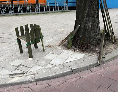 Guerilla Upcycling (Street Furniture pt. 1)