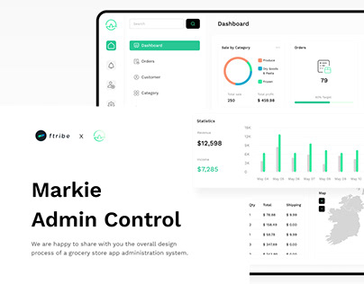 Markie - Grocery On Admin Control