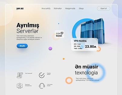 Web Hosting UI Design