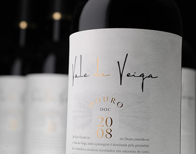Vale da Veiga Douro Wine Label