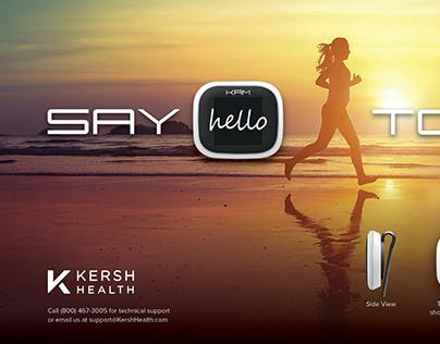 Kersh Health: Activity Monitor Poster