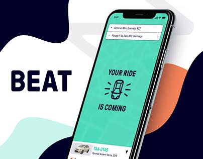 Beat case study: Passenger app