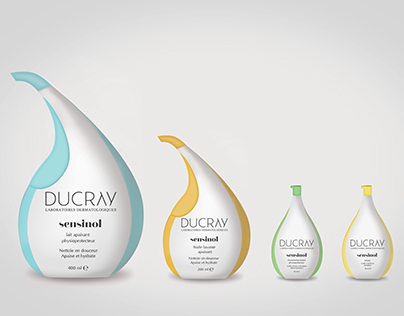 Ducray Sensinol / Rebranding