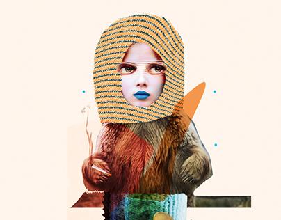 Fumadoras | Collage