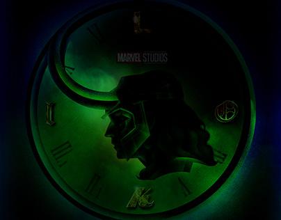 Loki Disney+ Inspired art