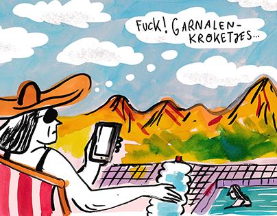 Newspaper illustration 2018