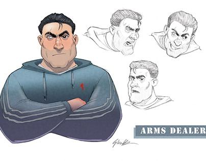 Arms Dealer Character Development