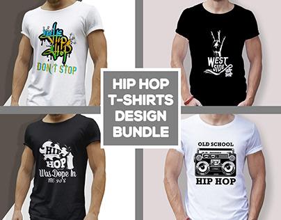 Hip HopT-shirtsDesign Bundle
