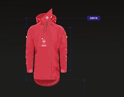 KONTRA ~ Extreme sportwear. Brand & Fashion design.