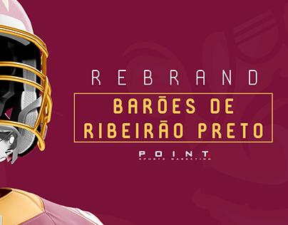 Rebrand - Barões de Ribeirão Preto (conceito)