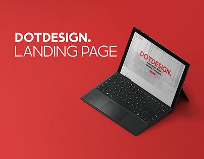 DotDesign Landing Page
