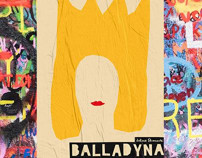 Balladyna - poster design