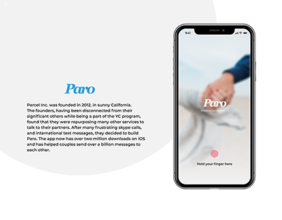 Paro (app for couples)