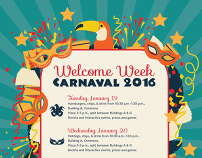 Student Life Carnaval Events