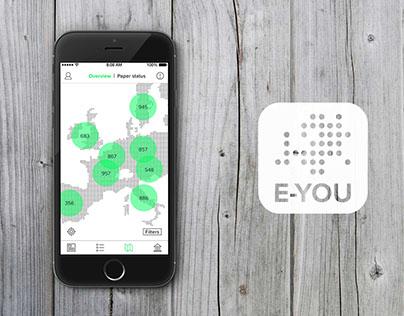 E-YOU mobile app