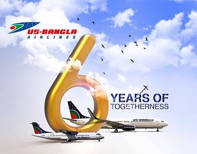 US-BANGLA AIRLINES: 6th Anniversary