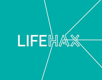 LIFEHAX - Event branding