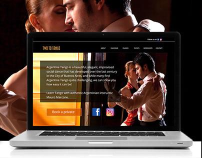 Dancing Website