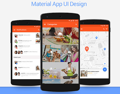 Location Material UI kit