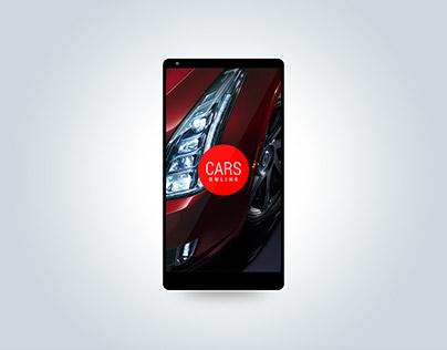 Online Car Shopping Concept Design