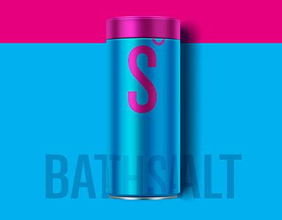 S Ocean Bath Salt packaging