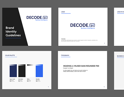 Decode.bi | Brand Identity