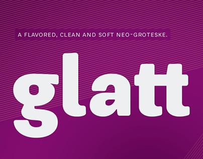 Glatt Typeface