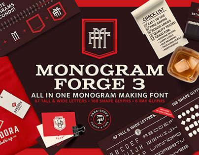 MONOGRAM-FORGE-3 Display Typeface