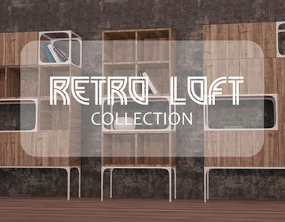 Retro Loft Furniture Collection