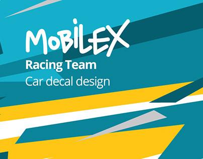 Mobilex Racing Team car decal