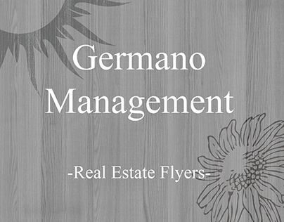Germano Management: Real Estate Flyers